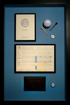 Hole-in-One Display -- Golf-ART.Com Online Store