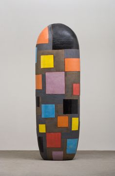 Jun Kaneko has rewritten the rules about the size and shape of ceramic art with his giant sculptures.