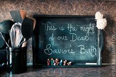 Cute mini Nativity display