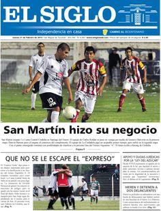 Diario El Siglo - Jueves 21 de Febrero de 20 13