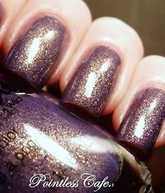 NEW! SPOILED by Wet n Wild Nail Polish Lacquer ARE MERMAIDS REAL? ~ DUSTY PURPLE