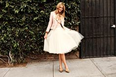 Alexandra Grecco tulle skirt!