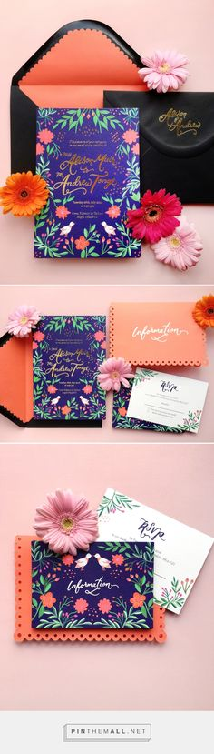 Gold lotus cutwork cards by Studio13, Kolkata Wedding Invitation - invitation card kolkata