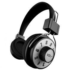 Zeikos Audio Headphones // wow. really like the big volume knob!