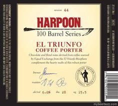 Harpoon 100-Barrel Series El Triunfo Coffee Porter