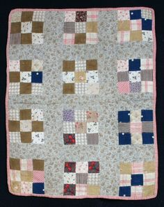 1877 doll quilt
