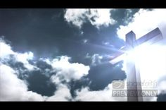 This worship video will help your people look to the cross during worship. The worship video loop displays an image of the cross on the right side of the video loop. Bright rays of light shine from behind the cross and clouds drift by in the sky. #Sharefaith #Faith #ChurchMedia #VideoLoop #Design