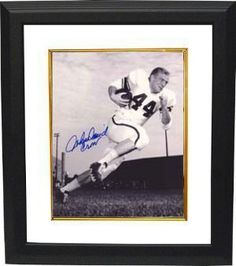 John David Crow signed Texas A 8x10 Photo Heisman Custom Framed by Athlon Sports Collectibles. $89.00. In 1956, John David Crow was part of the first Aggie football team to beat the University of Texas at Darrell K. Royal-Texas Memorial Stadium. Crow was named a scholastic All-American and won the Heisman on December 3, 1957, defeating Iowa tackle Alex Karras. As of 2010, he is the only Aggie to win the Heisman. John David Crow has hand autographed this Texa...