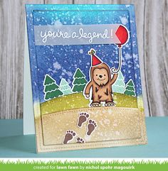 the Lawn Fawn blog: Lawn Fawn Intro: Lovable Legends and Everyday Sentiment Banners, Extra Sentiment Banners