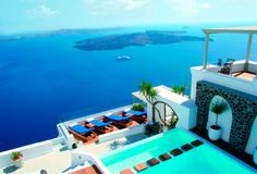 New for June: Iconic hotel in Santorini, Greece