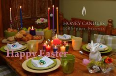 Happy Easter from Beeswax Honey Candles!