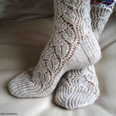 For a pampering overnight treatment, apply ARCH Sole Savour Creme to the soles of your feet and put on socks before you sleep. The socks help bind the moisture to your feet and you'll wake up to soft, smooth soles. {Get these adorable socks: http://www.etsy.com/listing/117823443/ladies-lace-socks-hand-knit-luxurious?ref=shop_home_active}
