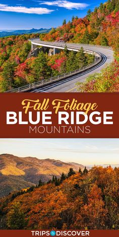 6 best places to see the fall foliage in the Blue Ridge Mountains - Destination vacances été 2019 Fall Vacations, Mountain Vacations, Blue Ridge Parkway, Blue Ridge Mountains, Places To Travel, Places To See, Travel Destinations, Virginia Fall, Blue Ridge Georgia