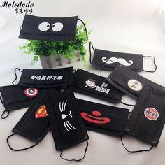 100pcs/lot Black Disposable mouth mask Adult Anti Haze Mask anti-dust mouth mask Windproof Mouth Face masks D40 #Affiliate