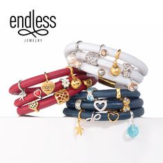 The Endless Jewelry Classic Collection charms & bracelets.