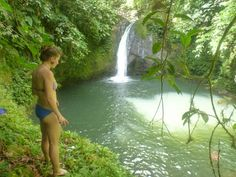 Paradise Falls waterfall trip form Almirante, Bocas del Toro, Panama $7pp + ~$6pp water taxi from Bocas Town