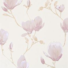 Magnolie -TAPETA na FLIZELINIE- Fleurie- BN