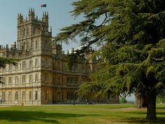 Highclere Castle on VisitBritain's LoveWall!  Used in Downton Abbey television series.