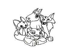 animal jam animals coloring pages snow leopard | animal jam coloring pages snow leopard | coloring kids ...