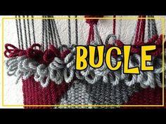 Tutorial BUCLÉ TELAR DECORATIVO Paso a Paso Mural Tapiz Weaving Walhanging Wandteppich. Lana Wolle - YouTube