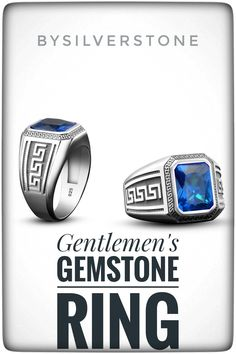 Gentlemen's Gemstone Rings, Classic and timeless rings for men. Gemstone rings for guys , Mens fashion, Silver rings for Men Silver Man, Silver Rings, Men's Jewelry, Jewellery, Greek Men, Corporate Fashion, Men Necklace, Men's Accessories, Work Wear