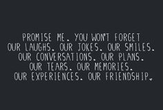Sad that a stranger that you had only know for 4 days had the power to cause you to forgot or choose to forget everything about us... friendship and all.