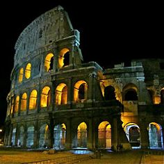 Colosseum ~ Rome, Italy 2010 © PJ Ammidon