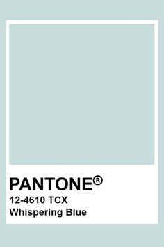 Pantone Whispering Blue #pantone2020 Pantone Whispering Blue Bleu Pantone, Azul Pantone, Pantone Tcx, Pantone Swatches, Pantone Colour Palettes, Color Swatches, Pantone Color, Pantone Green, Colour Pallette