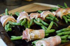 Gluten Free Apps: Bacon bordo Envolvido feijões verdes | A nutricionista…