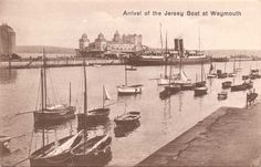 Arrival of the Jersey Boat Weymouth