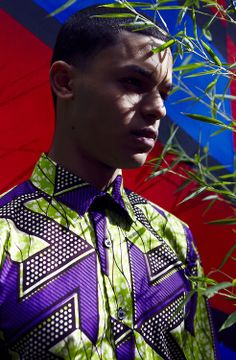 Abu from D1 Models wearing SOBOYE shirt… Ph: James Sharpe