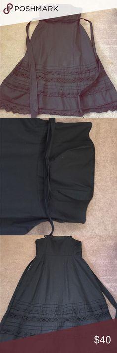 Strapless dress Ann Taylor Loft dress. Size 12. Only worn a couple times. Hits below knee. Ann Taylor Dresses Strapless