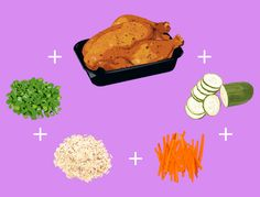 Brown rice bowl: imitation Chinese takeout