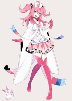 sylveon gijinka pokemon