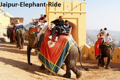 Your #ElephantSafari by the #AjmerFort , #Jaipur – So , what are you waiting for ? Plan your trip  to Jaipur  and get a feel of India's #glorious past. Know that your visit to Jaipur is simply incomplete without visiting #AmberFort.  Enter in majestic  and royal style on elephants and the moment  you enter the passageway leading to the fort, you will  feel the essence of  majestic #Rajasthani culture.