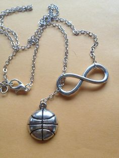 Basketball Forever Drop Necklace Pretty pretty please get this for me!!! Need futbol