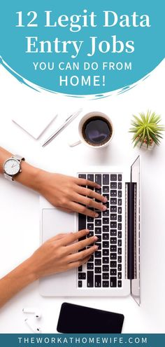 12 Legit data entry jobs from home. Check out these ideas, and get started working from home today. | The Work at Home Wife Work From Home Moms, Make Money From Home, How To Make Money, Home Blogs, Find Work, Money Savers, Data Entry, Time Management Tips, Online Jobs