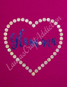 3 designs Glamma cut files Silhouette Cricut svg jpg png pdf Studio V3  Are you a grandma or a GLamma? Glamour up your grandma status to Glamma, with a diamond, heart or string of pearls. All three designs are included. Holographic and glitter heat transfer vinyls are perfect for these designs.  Included in the zip download are SVG, PNG, JPG, PDF and Studio V3 formats.  Registration marks are included to help with alignment.  I personally have a Silhouette Cameo, and have limited knowledge…