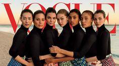 Kendall Jenner, Gigi Hadid and Ashley Graham, Together on the Cover of Vogue! #AshleyGraham, #GigiHadid, #KendallJenner celebrityinsider.org #Fashion #celebrityinsider #celebrities #celebrity #rumors #gossip