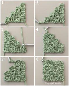 Malli, Crochet Necklace, Stitch, Crochet Stitches, Christmas Ornaments, Manualidades, Full Stop, Sew, Stitches