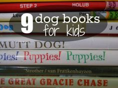 9 dog books for kids