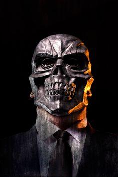 Black Mask Cosplay