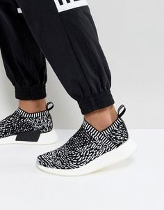 on sale 6a2c1 4b8bd  90 adidas Originals NMD CS2 Primeknit Sneakers In Black BY3012 Nmd Adidas,