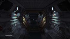 Not the best lit of passageways