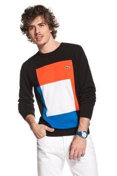 colorblock - lacoste #Lacoste  #Men_Fashion  #Fashion