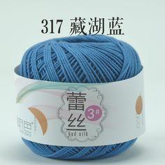 # 3 da linha de bonecas do fio do laço do crochet fio de algodão DIY verão algodão mercerizado crochet crochet thread tricô -tmall.com genuína Lynx