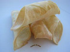 Cannoncini croccanti di pane  ( da Pasticceria Salata di Luca Montersino)
