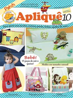 Artesanato - Apliquê - Patchwork : COL AMANDA APLIQUE 010 - Editora Minuano