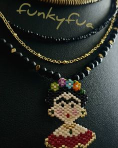 Miyuki Frida Kahlo  #2020jewels #luckyjewels #thingstowear #jewels #funkyfua #necklace #bracelet #earings #art #crafts #handmade #greece #athens #fashion #latesttrends #makeyourlifebeautiful #havetoget #pendants #handmadejewels #silver #gold #bronze #timeforgifts #jewellerydesign #jewellerydesigner #jewelsaddict #fashionjewellery #autumn2019 #trends #newcollection Diy Jewelry, Jewelry Design, Fashion Jewelry, Art Crafts, Athens, Jewerly, Greece, Latest Trends, Bronze