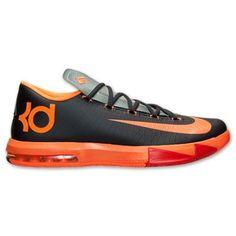 Nike KD VI Basketball Shoe - Anthracite/Total Orange/Team Orange/Mica Green